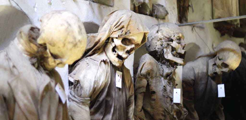 The Capuchin catacombs in Palermo