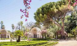 orto botanico villa giulia in Palermo