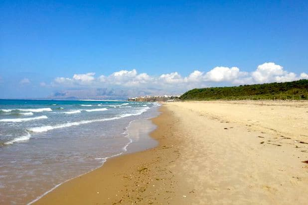Balestrate Beach