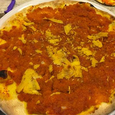 pizza faccia di vecchia