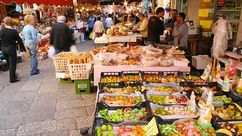 ballaro outdoor market
