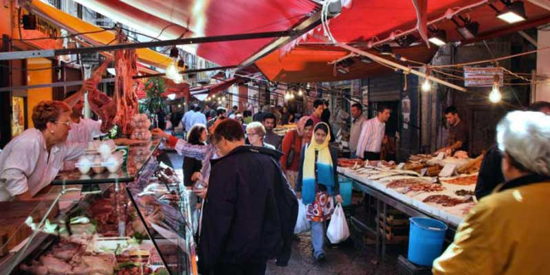 historic palermo street markets