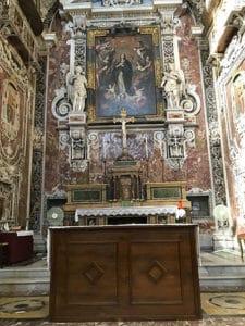 immacolata concezione church altar