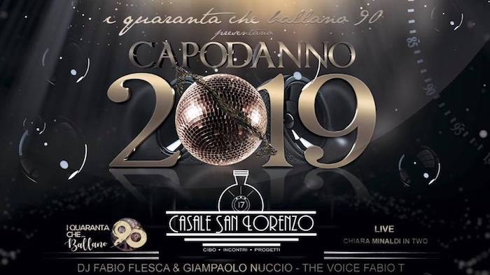 CASALE SAN LORENZO New Year 2019