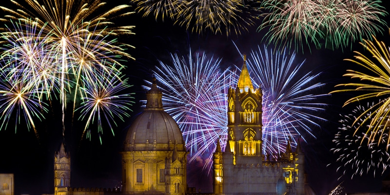 New Year in Palermo Sicily