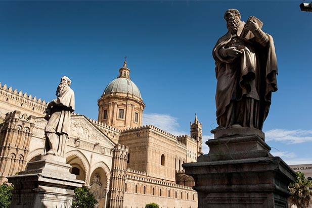 cattedrale of Palermo from outside