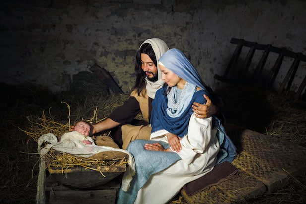 The living nativity of Custonaci
