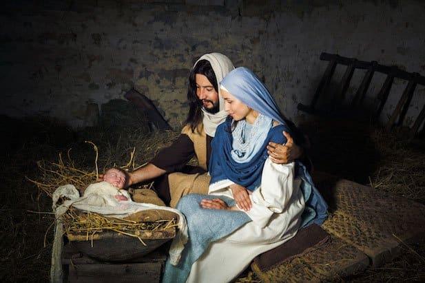 The living nativity of Custonaci