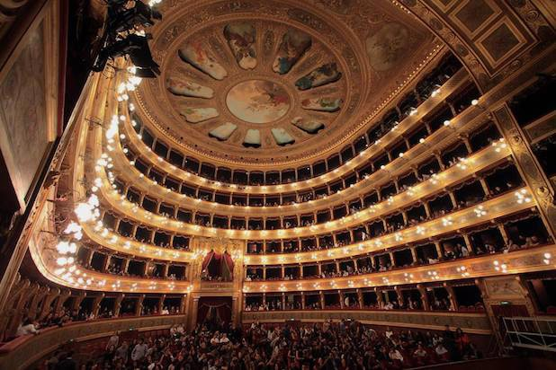 Auditorium of Teatro Massimo