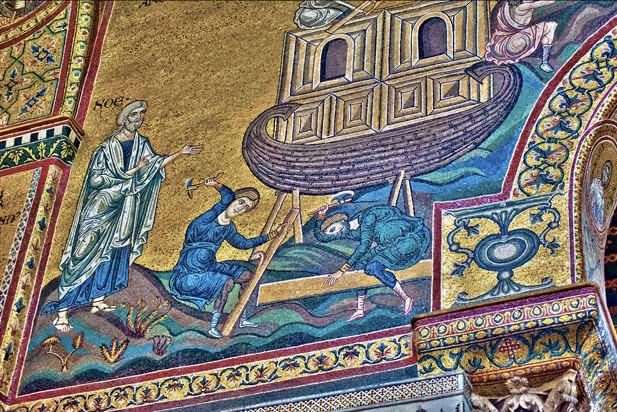 mosaics of monreale cathedral