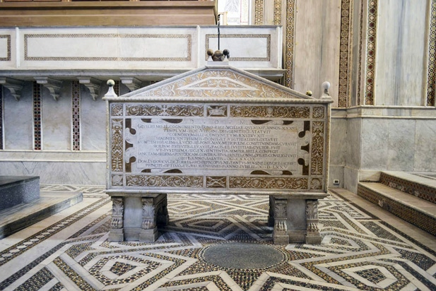 sarcophagus of William II