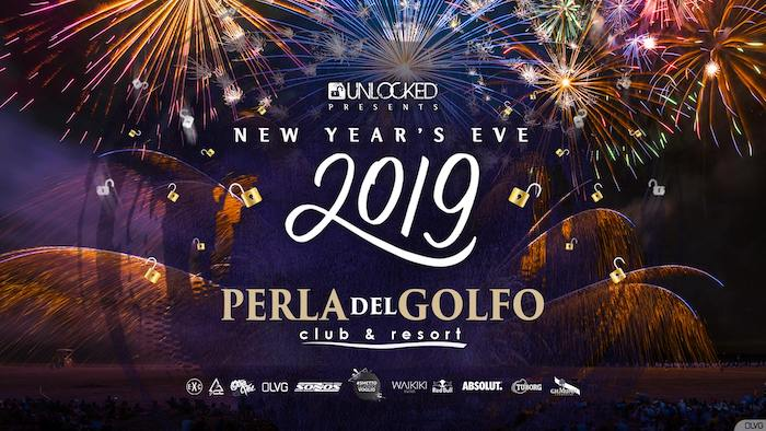 Unlocked presents Capodanno 2019 at Perla del Golfo