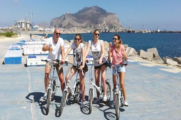Cycling in Palermo