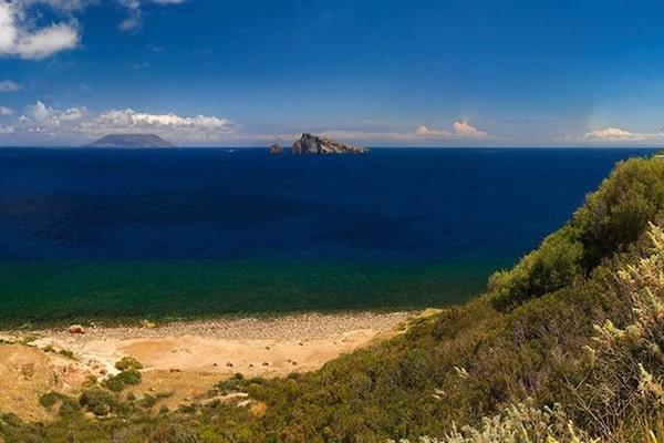 Spiaggia della Calcara Panarea