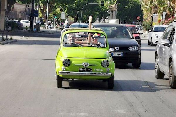 VintagePalermo Fiat 500 Sightseeing Tour